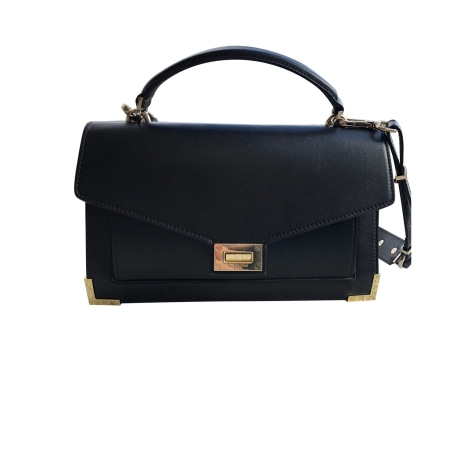 Leather Shoulder Bag THE KOOPLES Black