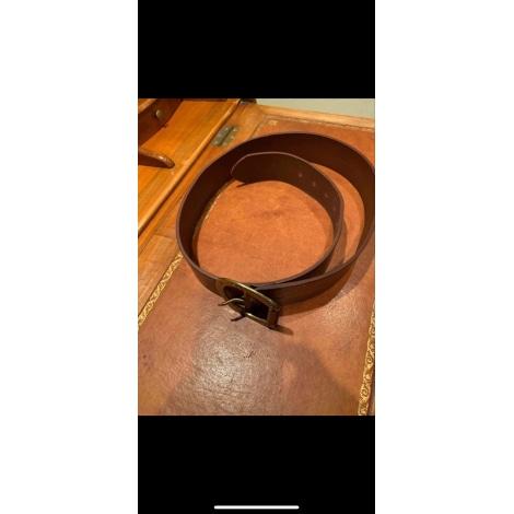 Wide Belt RALPH LAUREN Golden, bronze, copper