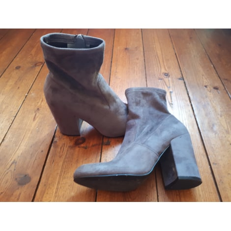 Bottines & low boots à talons STEVE MADDEN Gris, anthracite