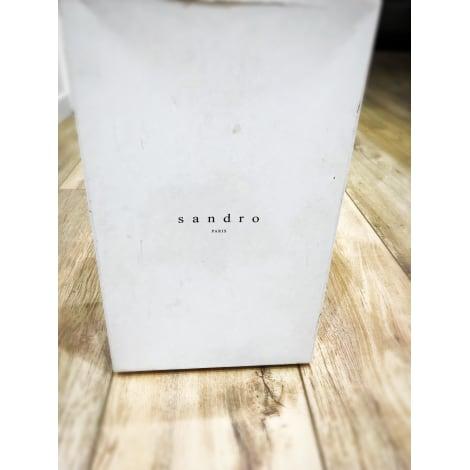 Baskets SANDRO Blanc, blanc cassé, écru
