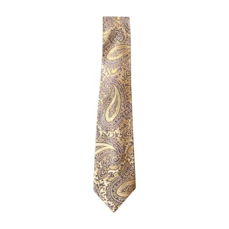 Cravate GIVENCHY Jaune