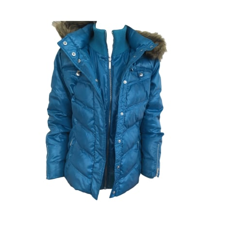 Down Jacket PEPE JEANS Blue, navy, turquoise