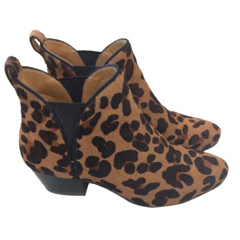 Bottines & low boots à talons SÉZANE Imprimés animaliers