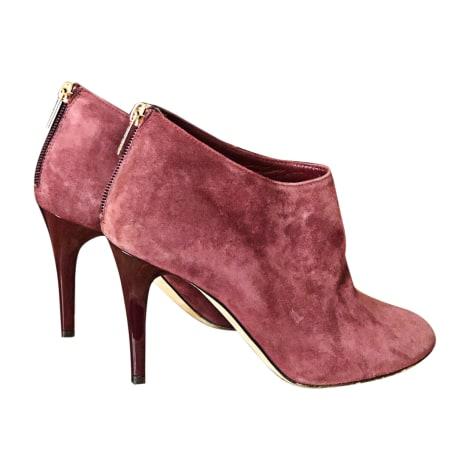 Bottines & low boots à talons JIMMY CHOO Violet, mauve, lavande