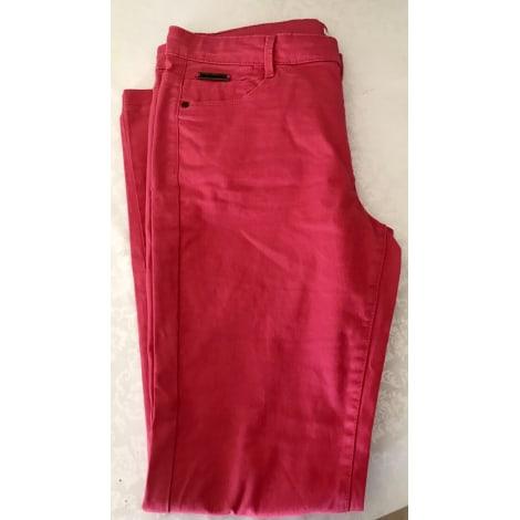 Pantalon droit CAMAIEU Multicouleur