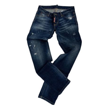 Pantalon DSQUARED2 Bleu, bleu marine, bleu turquoise