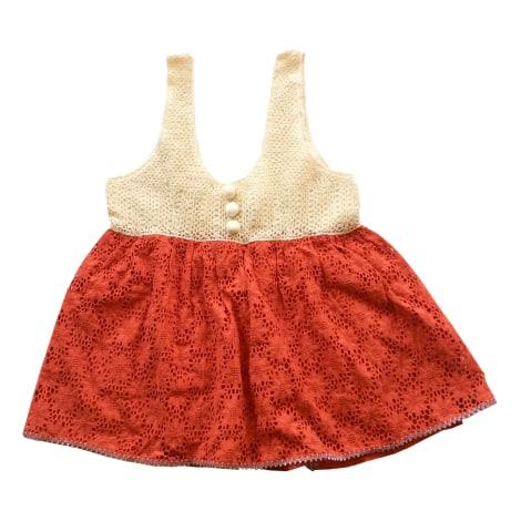 Top, tee-shirt MANOUSH Rouge, bordeaux