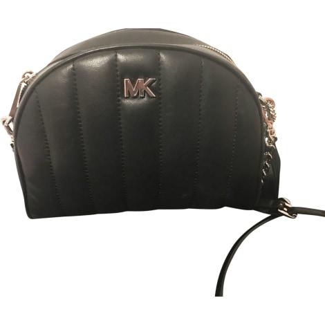 Leather Shoulder Bag MICHAEL KORS Black