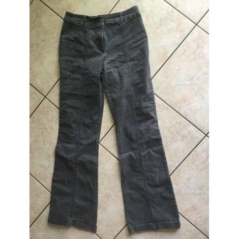 Jeans évasé, boot-cut ETAM Gris, anthracite