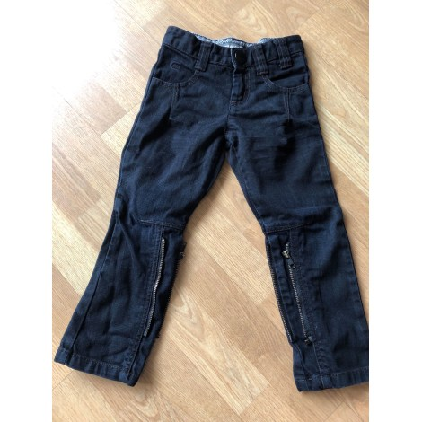 Straight Leg Jeans IKKS Black