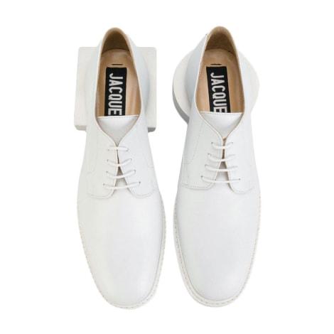 Chaussures à lacets  JACQUEMUS Blanc, blanc cassé, écru
