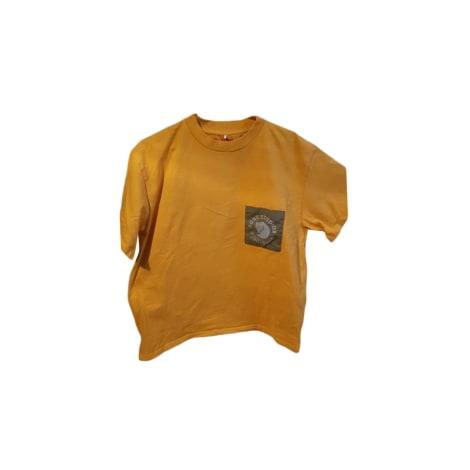 Tee-shirt ACNE Jaune