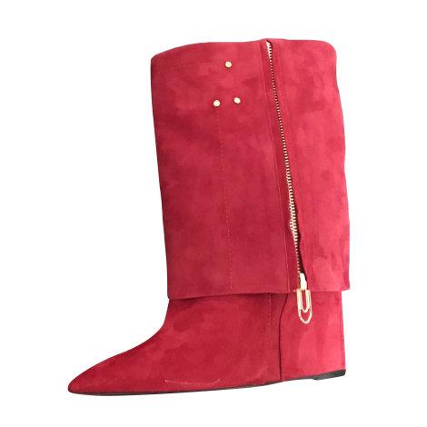 Bottines & low boots à compensés JEROME DREYFUSS Rouge, bordeaux