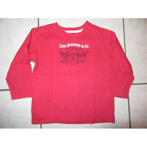 Top, tee shirt LEVI'S Rouge, bordeaux