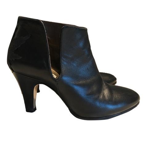 Bottines & low boots à talons PATRICIA BLANCHET Noir