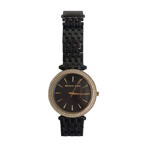 Wrist Watch MICHAEL KORS Noir et or