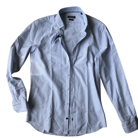 Camicia TOMMY HILFIGER Rayures blanches et bleues