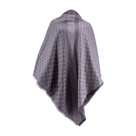 Scarf GUCCI Gray, charcoal