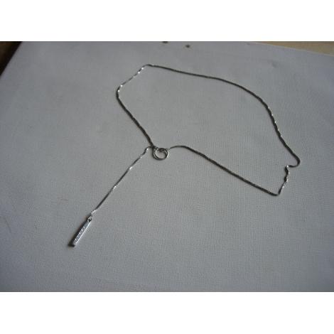 Anhänger, Halsketten mit Anhänger GUCCI Silberfarben, stahlfarben
