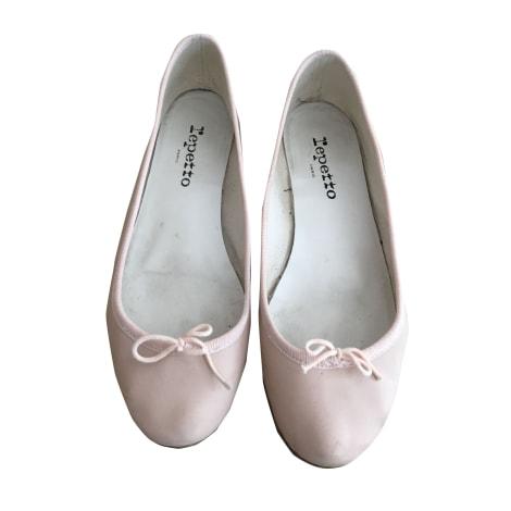 Ballet Flats REPETTO Pink, fuchsia, light pink