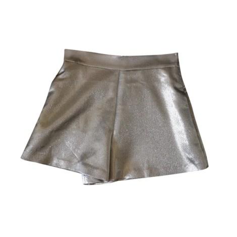 Shorts MAJE Golden, bronze, copper