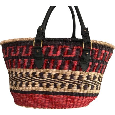 Leather Oversize Bag ISABEL MARANT Multicolor
