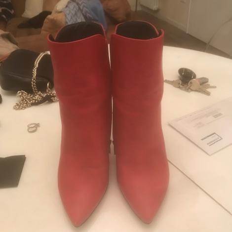 Bottines & low boots à talons STEVE MADDEN Rouge, bordeaux