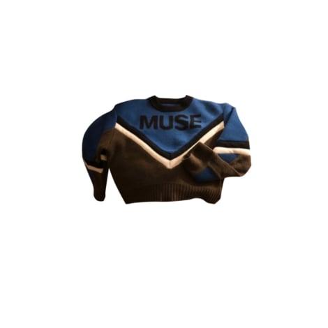 Pull ZADIG & VOLTAIRE Bleu, bleu marine, bleu turquoise