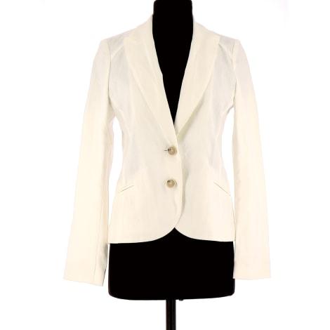 Manteau COMPTOIR DES COTONNIERS Blanc, blanc cassé, écru