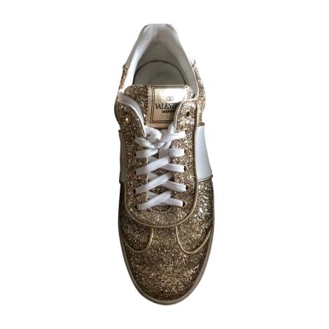 Sneakers VALENTINO Golden, bronze, copper