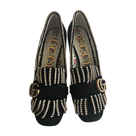 Loafers GUCCI Black