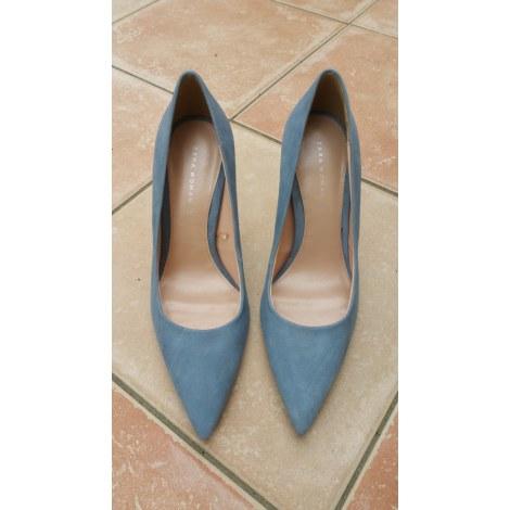 Escarpins ZARA Bleu, bleu marine, bleu turquoise