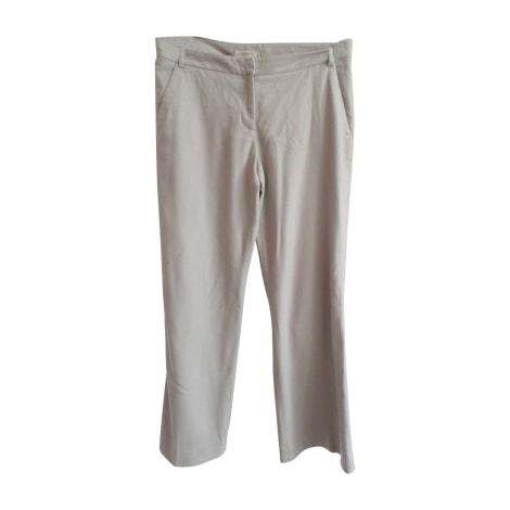 Pantalon large BURBERRY Beige, camel