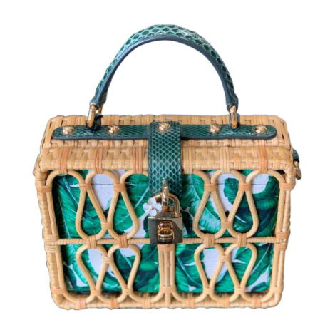 Non-Leather Shoulder Bag DOLCE & GABBANA Green