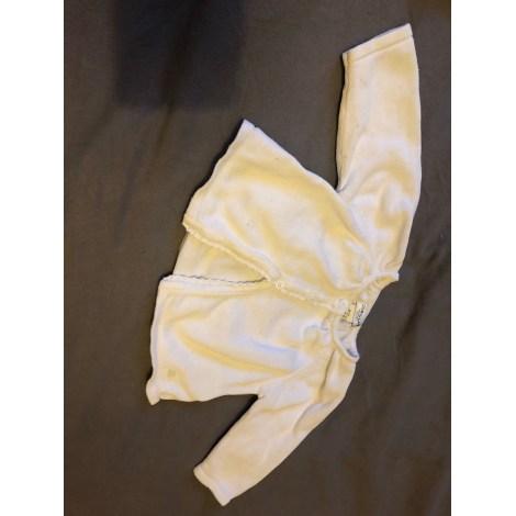 Gilet, cardigan CYRILLUS Blanc, blanc cassé, écru