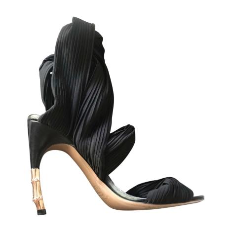 Heeled Sandals GUCCI Black