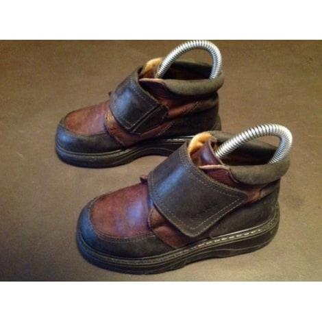 Velcro Shoes GBB Marron et noir