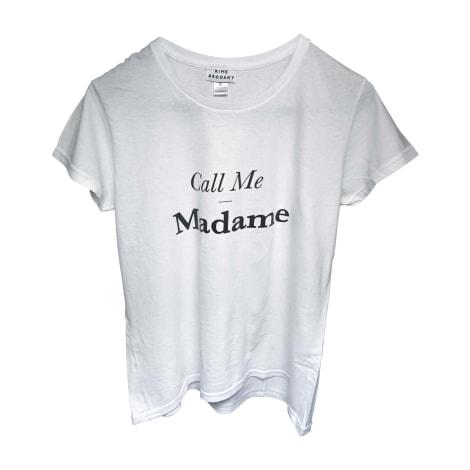 Top, T-shirt RIME ARODAKY White, off-white, ecru