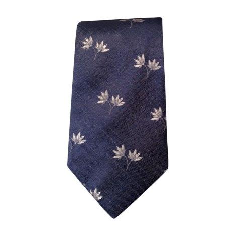 Cravate KENZO Bleu, bleu marine, bleu turquoise