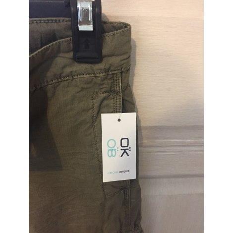 Pantalon OKAÏDI Kaki