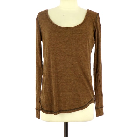 Top, tee-shirt BEL AIR Marron