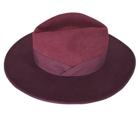 Hat BA&SH Red, burgundy