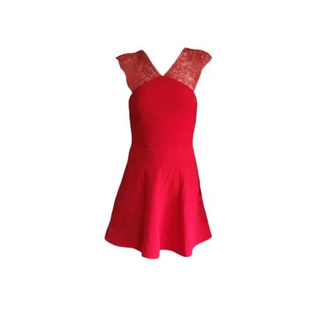 Mini Dress THE KOOPLES Red, burgundy