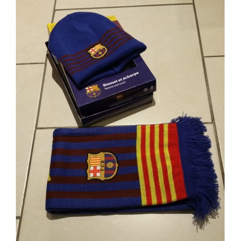 Echarpe FC BARCELONA Bleu, bleu marine, bleu turquoise