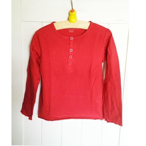 Top, Tee-shirt STELLA MCCARTNEY Rouge, bordeaux