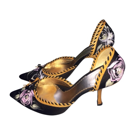 Sandales à talons GIORGIO ARMANI Multicouleur