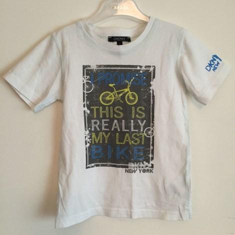 Tee-shirt DKNY Blanc, blanc cassé, écru