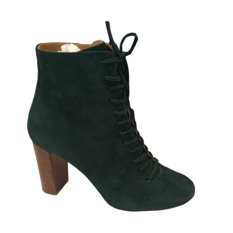High Heel Ankle Boots SÉZANE Green