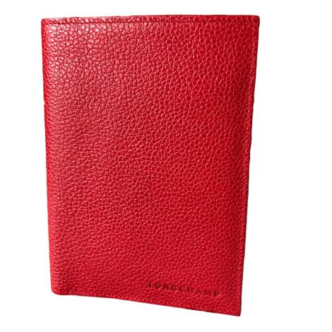 Kartenetui LONGCHAMP Rot, bordeauxrot