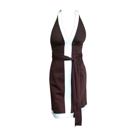 Backless Dress KENZO Brown